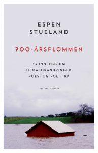 Bilde av coveret til Espen Stuelands roman, hus i snø