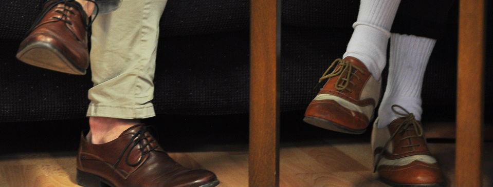 Bilde av skopar til debattanter